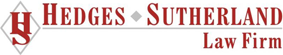 Hedges Sutherland Law Firm Logo
